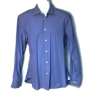 John Varvatos Slim Fit Blue Men's shirt 16